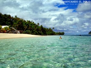 Playa Lalomanu en Samoa