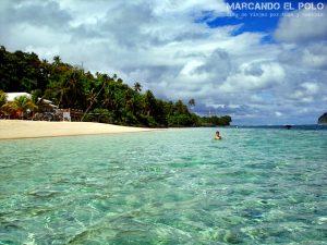 Que ver en Samoa - Playa Lalomanu