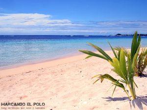 Que ver en Samoa - Manase beach
