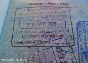 Viajar a Samoa - Visa