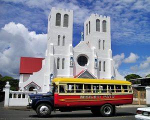 Autobus en Apia