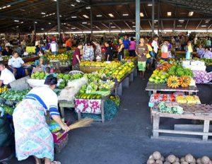 Mercados en Samoa