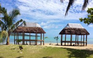 Que ver en Samoa - Isla Namua fales