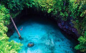 Que ver en Samoa - Pozo turquesa To Sua