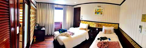 Agencia recomendada Halong Bay - Holiday Travelling - Habitacion
