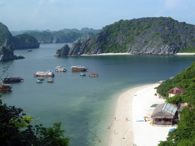 Tour a Halong Bay - Monkey island