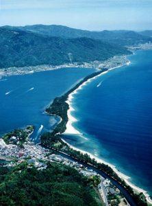 Viajar a Japon - Vista aerea Amanohashidate