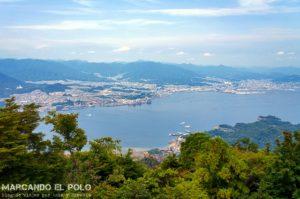 Viajar a JApon - Monte Misen, Miyajima