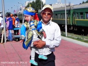 Visa de Mongolia - Estacion tren Ulan Bator
