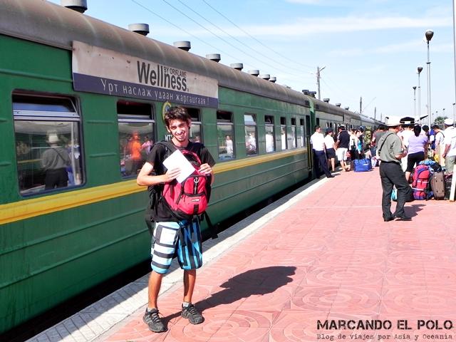 Visa de Mongolia - Estacion de tren Ulan Bator