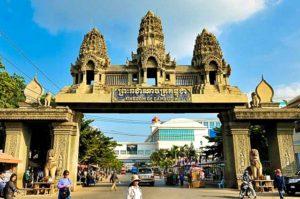Fronteras de Tailandia - Aranyaprathet (Tailandia)-Poipet (Camboya)