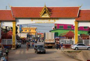 Fronteras Sudeste asiatico - Tailandia (Ban Laem)-Camboya (Daun Lem)
