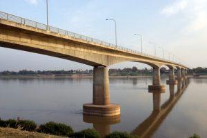 Fronteras de Tailandia - Nong Khai (Tailandia)-Vientiane (Laos)