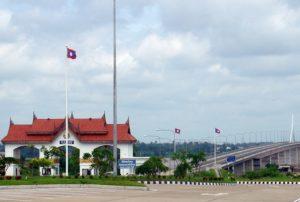 Fronteras de Tailandia - Mukdahan (Tailandia)-Savannakhet (Laos)