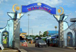 Fronteras de Tailandia - Sungai Kolok (Tailandia)-Rantau Panjang (Malasia)