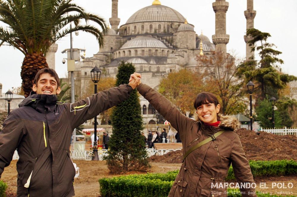 Mejor zona para alojarse en Estambul - Mezquita azul 2