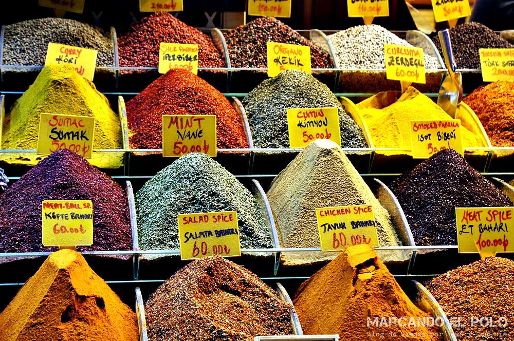 Mejor zona para alojarse en Estambul - Spice Bazar