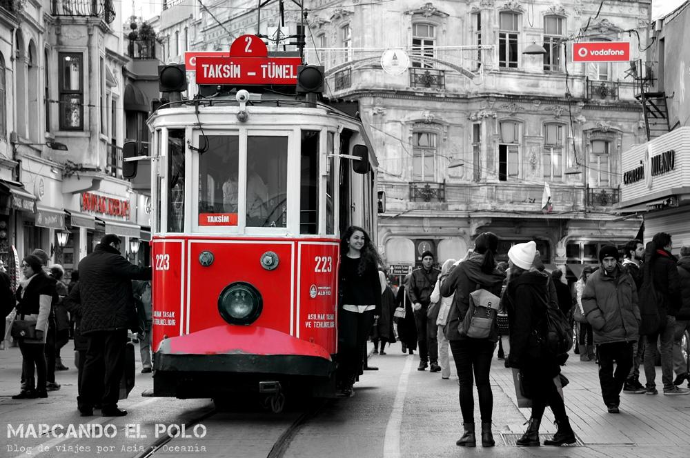 Mejor zona para alojarse en Estambul - Avenida Istiklal