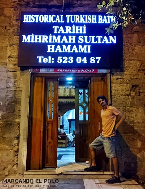 Hamam no turistico de Estambul - Entrada Mihrimah Sultan Hamam
