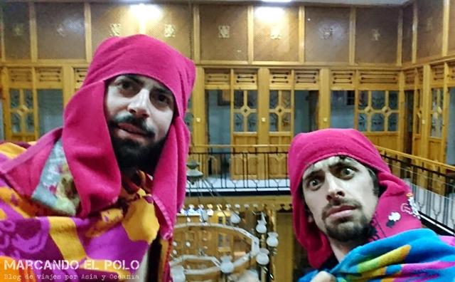 Hamam no turistico de Estambul - Fin de sesion