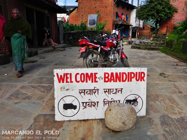 Bandipur - pueblo cerrado al tránsito