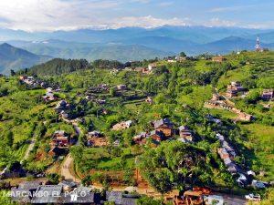 Bandipur - Vista a los Himalayas