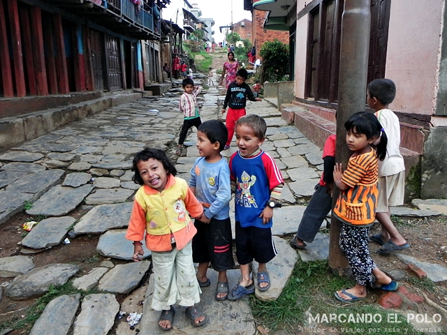 Bandipur - calle peatonal
