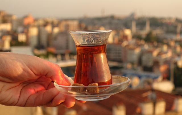 Curiosidades el té turco