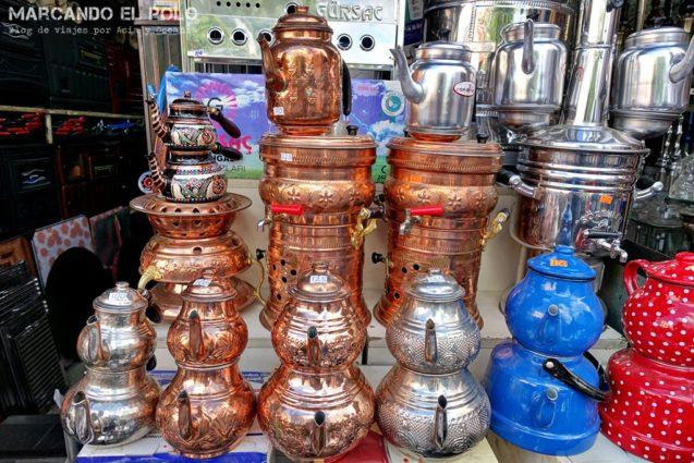 Curiosidades del té turco: tetera