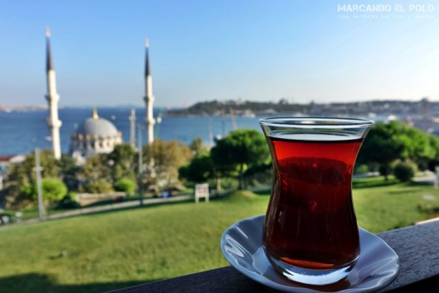 Curiosidades del té turco: casa de té Estambul