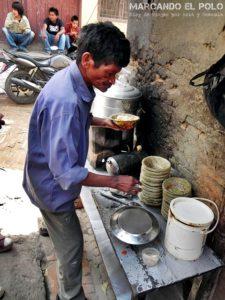 Visa de Nepal - Salud comida callejera