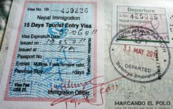 Visa de Nepal - Visa on arrival