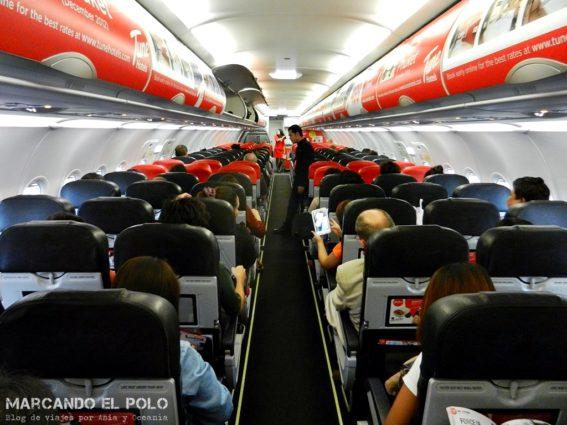 Pasaje de salida para entrar a Tailandia - volando con Air Asia