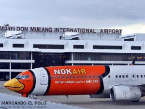 Pasaje de salida para entrar a Tailandia - Aerolinea Nok Air
