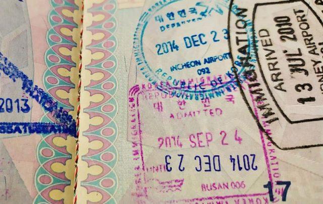 Visa de Corea del Sur