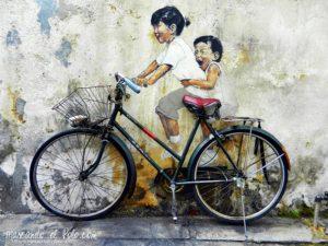 Arte callejero en Georgetown, Penang, Malasia