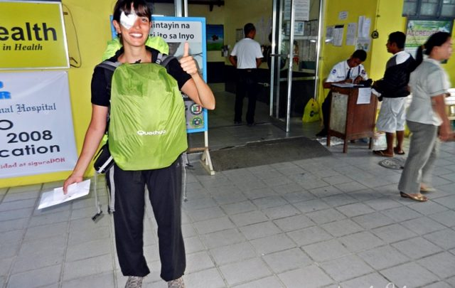 Seguro de viaje desde el exterior - Hospital en Filipinas