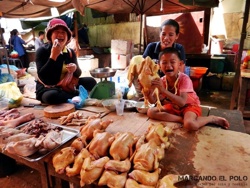 Seguro de viaje desde el exterior - Mercado Camboya