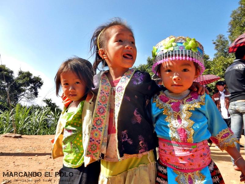 Minoría etnica hmong en Laos