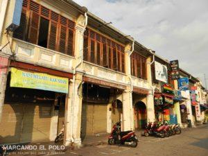 Shophouse, arquitectura tipica Penang - Malasia