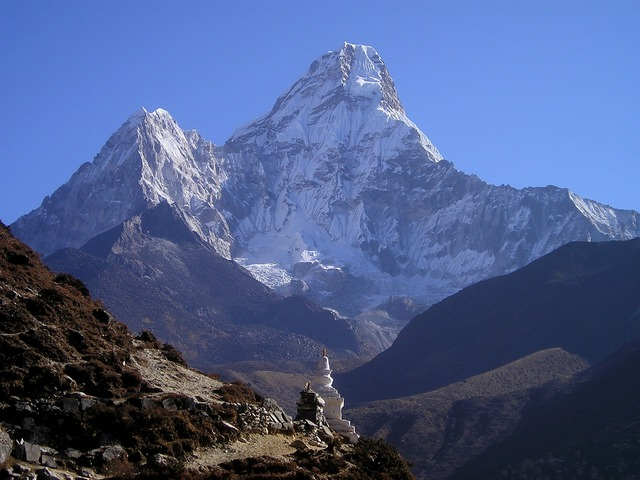 Trekking por los Himalayas en Nepal