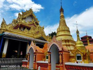 Que ver en Penang - Templo Wat Dhammikarama