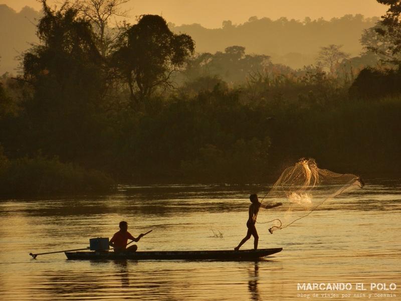 Viajar a Laos - Río Mekong, Don Det