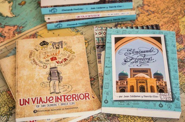 Libros Eliminando fronteras y Un viaje interior