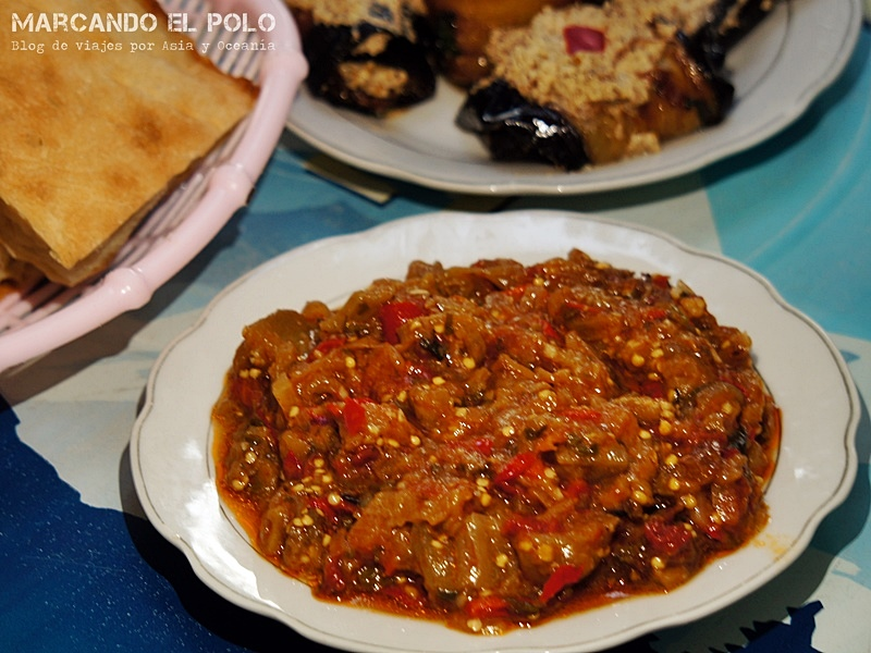 Gastronomía de Georgia: Ashapsandali