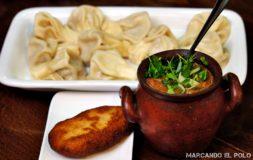 Comida de Georgia: lobio con pan mchadi