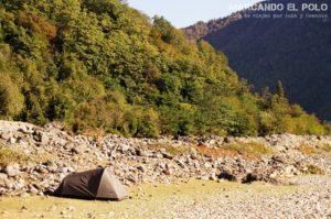 Camping libre en Georgia