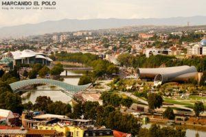 Que ver en Georgia - Rike Park, Tbilisi